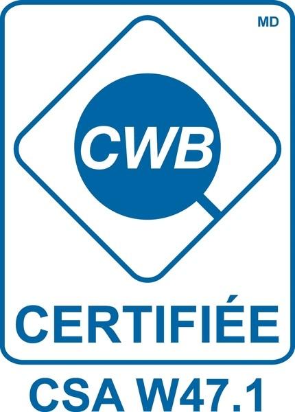 Unicab possède la certification CWB